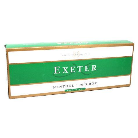 Exeter Menthol 100s Box (20 ct., 10 pk.)