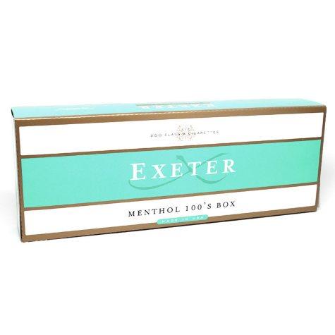 Exeter Gold Menthol 100s Box (20 ct., 10 pk.)
