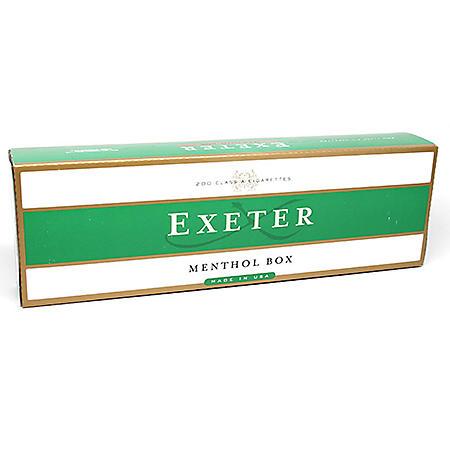 Exeter Menthol King Box (20 ct., 10 pk.)