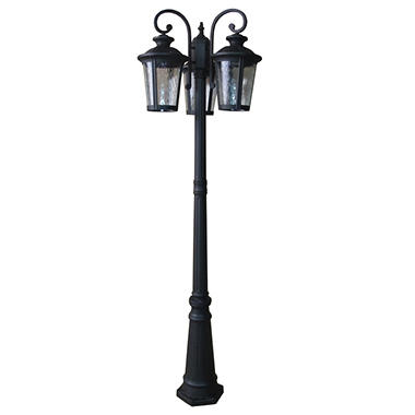 Austin outdoor 3 light post lantern sams club austin outdoor 3 light post lantern aloadofball Image collections