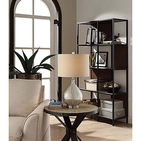 Cheryl Mercury Glass Table Lamp