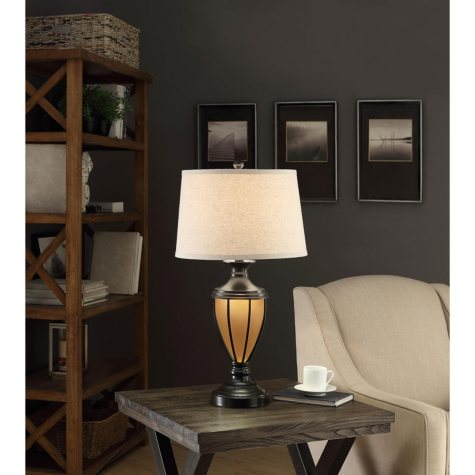 Fullerton Night Light Table Lamp