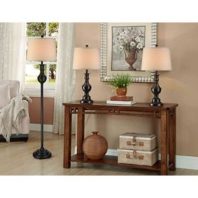 Fairmont 3-Piece Lamp Set