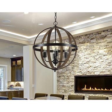 Design solutions essex 4 light pendant