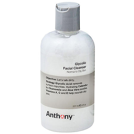 Anthony Glycolic Facial Cleanser (8 oz.)