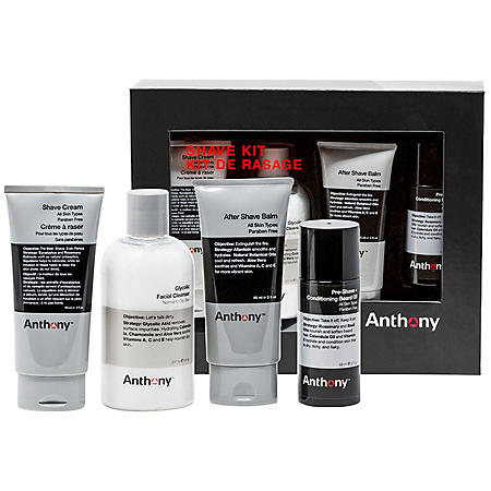 Anthony Shave Kit (4 pc.)