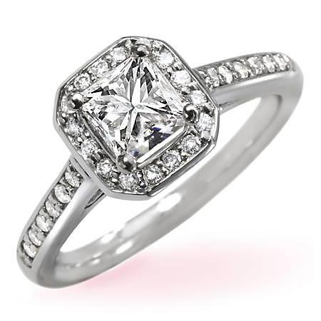 .76 ct. t.w. Princess-Cut Diamond Ring (I, I1)