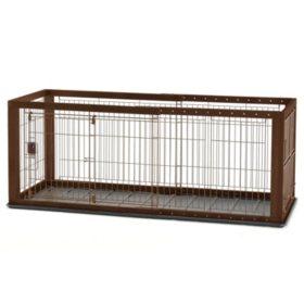 Richell Expandable Pet Crate (Choose Your Size)
