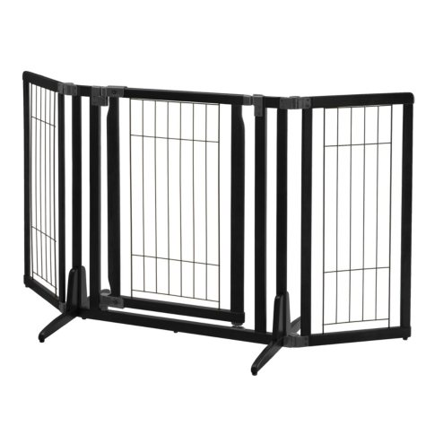 Richell Premium Plus Freestanding Pet Gate (Choose Your Color)