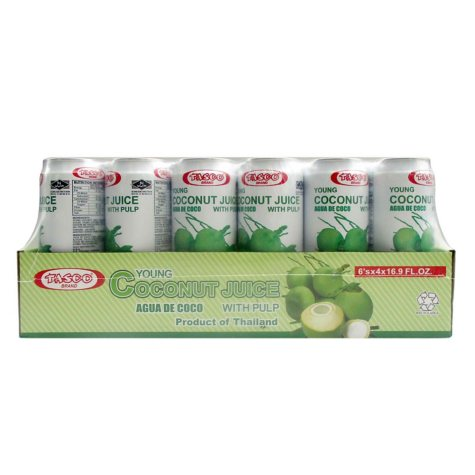 Tasco Young Coconut Juice - 24/16.9oz