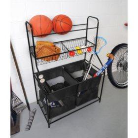 Bintopia Sports Equipment Organzier