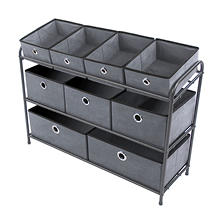 Bintopia 3 Tier Storage Organzier (Assorted Colors)