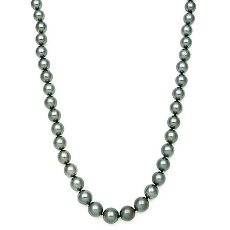 "TAHITIAN PEARL NECK 17"" 8-10MM 14KY"