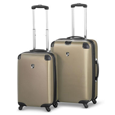 Heys USA Valet 2 Piece Lightweight Luggage Set - Bronze - Sam's Club