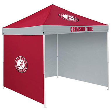 NCAA Alabama Tent with Team Side Panel