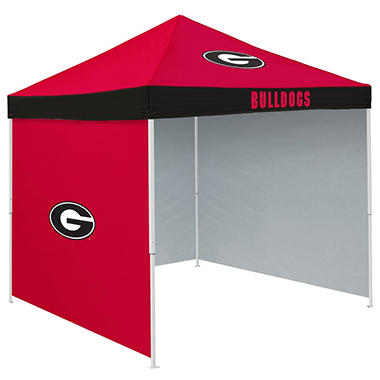 NCAA Georgia Tent with Team Side Panel