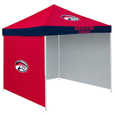 NCAA Houston Tent with Team Side Panel