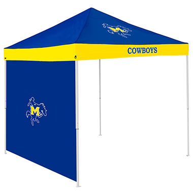 NCAA McNeese State Tent with Team Side Panel