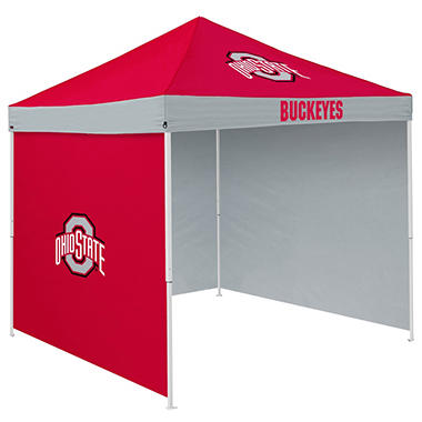 NCAA Ohio State Tent with Team Side Panel