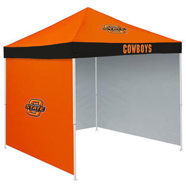 NCAA Oklahoma State Tent with Team Side Panel