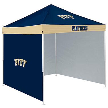 NCAA Pittsburgh Tent with Team Side Panel