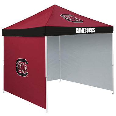 NCAA South Carolina Tent with Team Side Panel