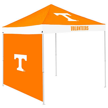 NCAA Tennessee Tent with Team Side Panel