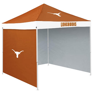 NCAA Texas Tent with Team Side Panel