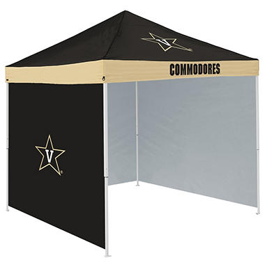 NCAA Vanderbilt Tent with Team Side Panel