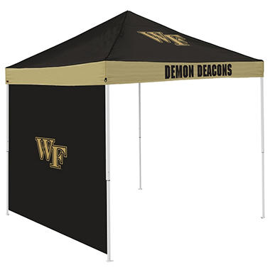 NCAA Wake Forest Tent with Team Side Panel