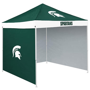 NCAA Michigan State Tent with Team Side Panel
