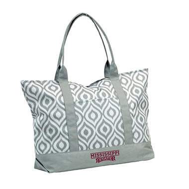 Mississippi State Ikat Tote