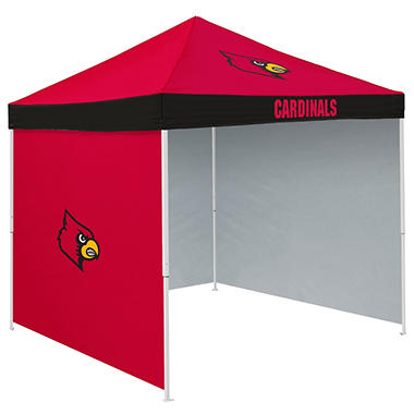 NCAA Louisville Tent with Team Side Panel