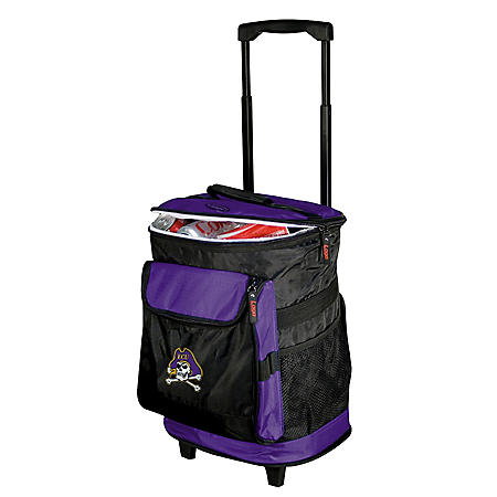 Licensed 48-Can Rolling Cooler - Choose your Team