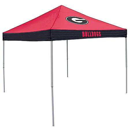9x9 NCAA Georgia Canopy