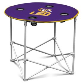 NCAA Round Folding Table - Choose Your School