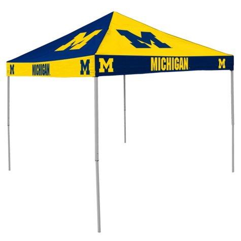 9x9 NCAA Michigan Checkerboard Canopy
