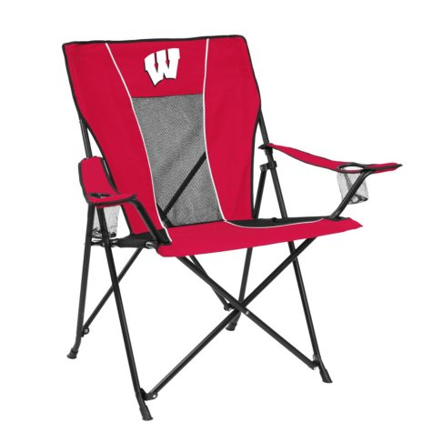 GAME TIME CHAIR WISCONSIN BADGERS