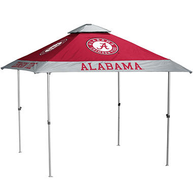 NCAA 10'x10' Pagoda Canopy (no lights) - Choose your team