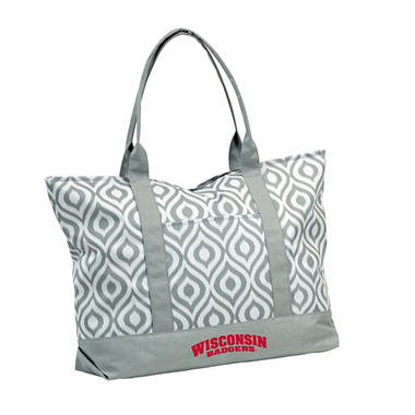 Wisconsin Ikat Tote