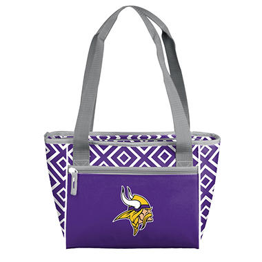 Minnesota Vikings 16-Can Cooler Tote
