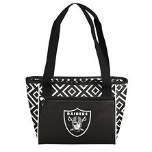 Oakland Raiders 16-Can Cooler Tote
