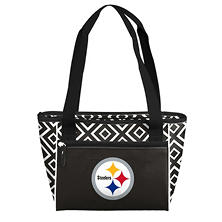 Pittsburgh Steelers 16-Can Cooler Tote