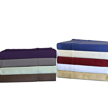 Brielle Bamboo Sheet Set, 100% Rayon from Bamboo - Various Sizes & Colors
