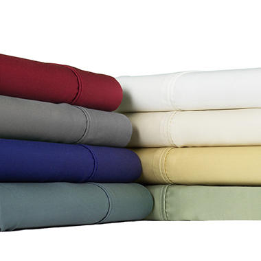 Brielle 300 Thread Count Modal Sateen Sheet Set - Various Sizes and Colors