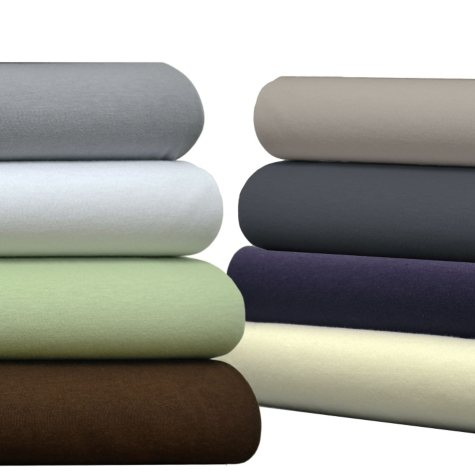 Brielle Cotton Jersey Sheet Set - Various Size and Colors