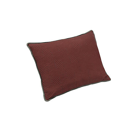 Brielle Honeycomb Reversible Pillow Sham Set (Assorted Sizes)