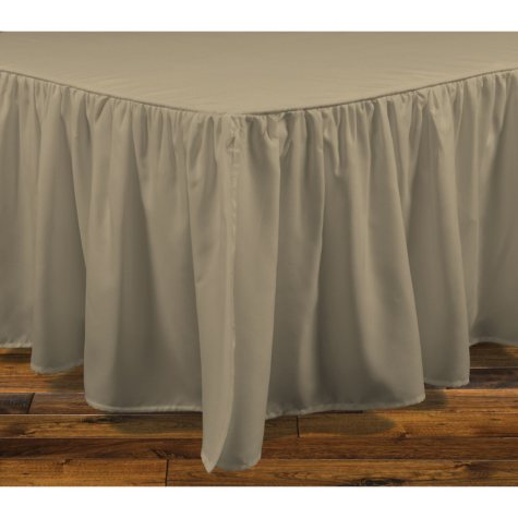 Brielle Stream Bedskirt (Assorted Sizes and Colors)