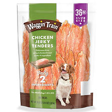 Waggin Train Chicken Jerky Dog Treats (36 oz.)