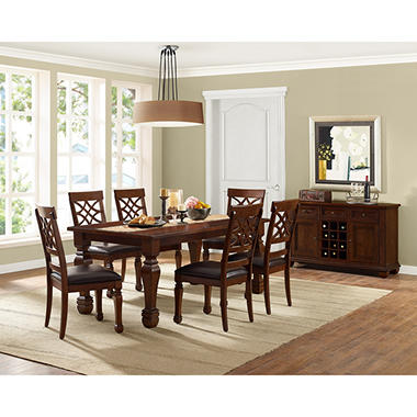 member's mark malone 7-piece dining set - sam's club